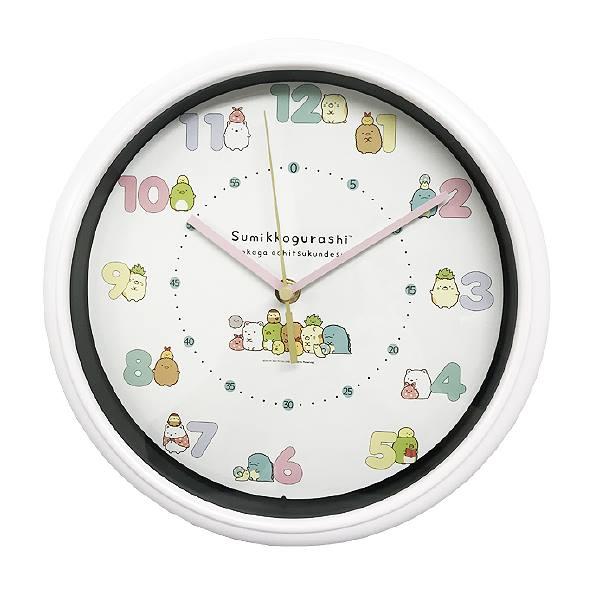 置き時計・掛け時計, 掛け時計  WC18082SXSG-CR sumikko gurashi