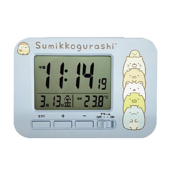 置き時計・掛け時計, 置き時計  AC19049SXSG sumikko gurashi