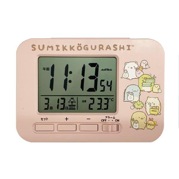 置き時計・掛け時計, 置き時計  AC19048SXSG sumikko gurashi