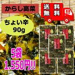 からし高菜・ちょい辛(大薗漬物)270g×4袋「送料無料」【メール便対応】