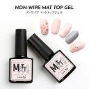 ノンワイプ マットトップジェル【メール便対応】ポリッシュジェ