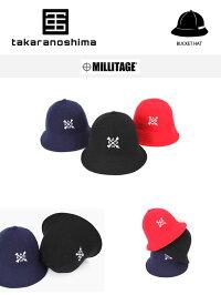 MILLITAGERADYO!XBUCKETHATバケットハットキャップ帽子スナップバック