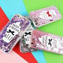iPhone case softcream ice cream ribbon glitter melt TPU iPhoneケース ソフトクリーム アイスクリーム スイーツ リボンハート グリッター キラキラ アクア デザインケース スマートフォンケース スマホケース スマホカバー アイフォンケース