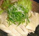葱油鶏★5〜切れハーフサイズ【蒸し鶏の葱油かけ旨み味付けスープ付き、★...