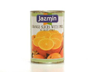 ジャスミン オレンジスライス 皮付 410g/1缶 フルーツ缶詰 スペイン産画像