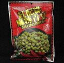 盛香珍 スパイシーグリーンピース 紅配緑 麻辣青豆 台湾産 220g x2袋セット その1