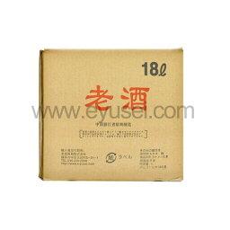 料理専用紹興老酒18L(ラオチュ・浙江省紹興酒)14.5度 中国産料理酒