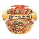満漢大餐珍味牛肉麺/カップ麺(辛口)碗麺 台湾ラーメン