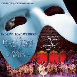 2012年1月25日発売予定 オペラ座の怪人 25周年記念公演 in ロンドン (国内盤2枚組CD)