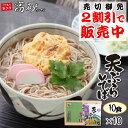 天ぷらそば お試しセット 1ケース 10食 そば 送料無料 ...
