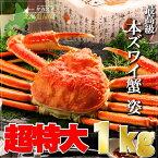 特大 ジャンボ ズワイガニ 姿 1kg前後 ずわいがに ずわい蟹 蟹 セット ズワイ蟹 kani ずわい ズワイ 蟹 かに カニ 【楽ギフ_のし宛書】【楽ギフ_のし】