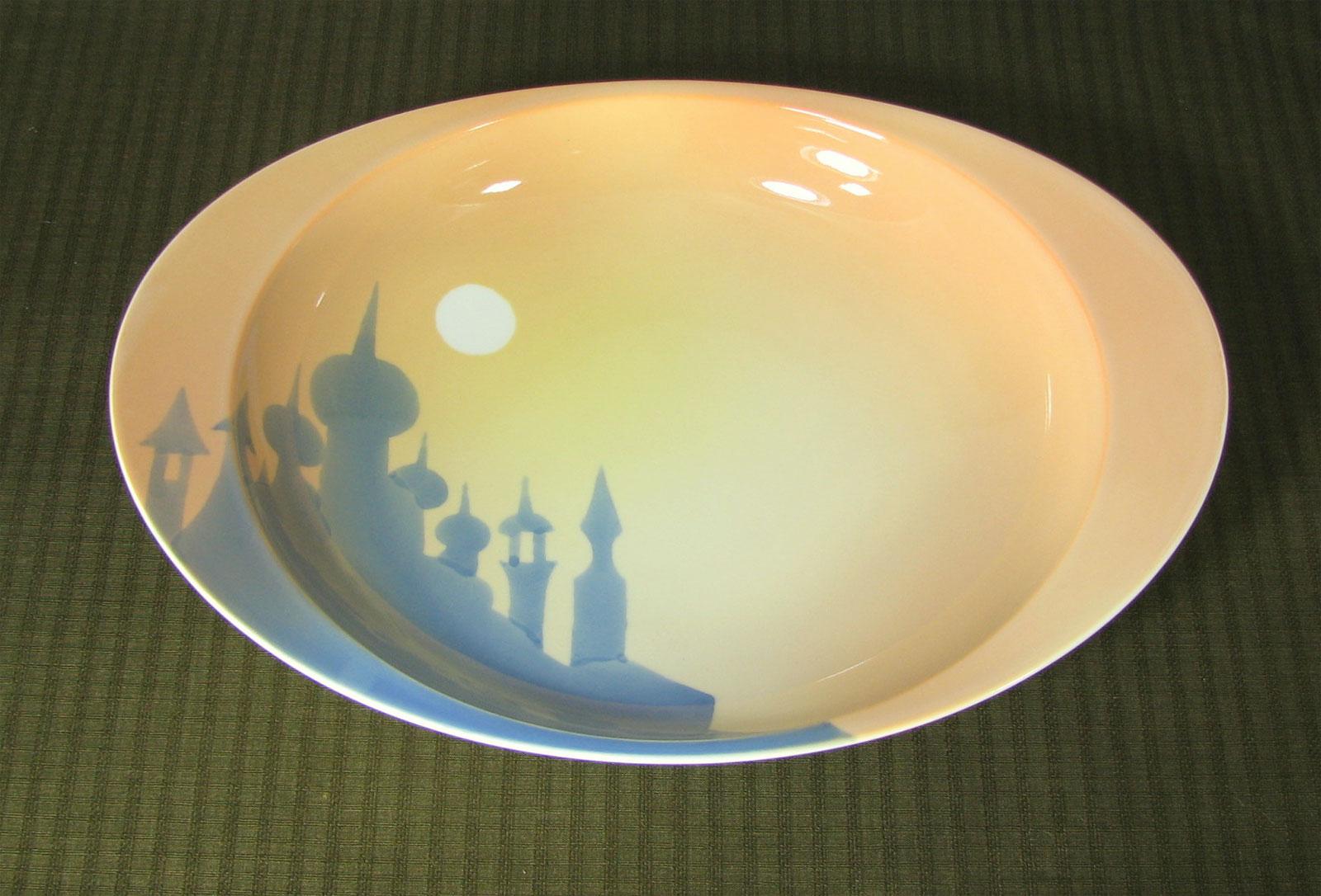 「極上のカレー皿」タージマハル(大)カレー皿