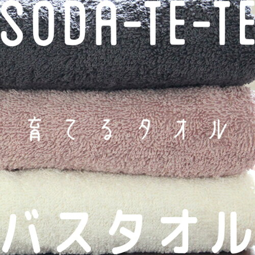 「SODA-TE-TE(ソダテテ)」バスタオル※北海道・沖縄は別途送料です。