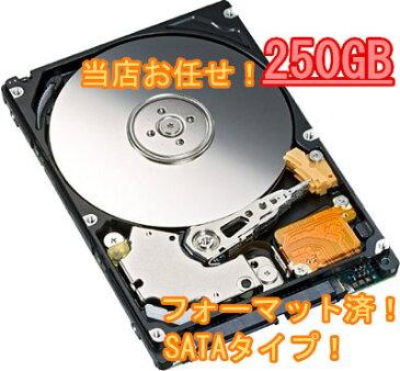 中古【当店お任せ!】デスクトップ用HDD SATA 250GB 送料無料【EC】【HDD-250GB】