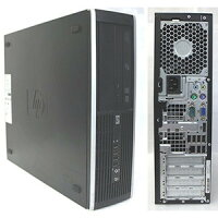 爆速新品SSD搭載/超特価!Corei5!美品(Windows7Pro64bit)HP8100EliteSFFCorei53.2GHz/メモリ4G/SSD120G+HD160GB/DVDドライブ/無線付き