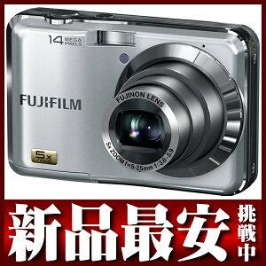 富士フイルム『FinePix AX250』FFX-AX250S シルバー 1400万画素 光学5倍 デジタルカメラ【新品...