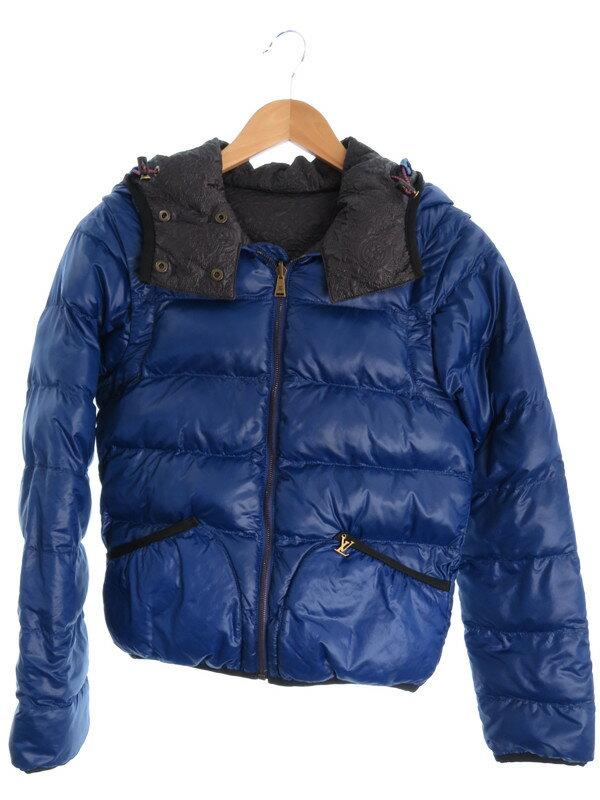 【Louis Vuitton】【アウター】ルイヴィトン『リバーシブル中綿ジャケット size34』レディース ブルゾン 1週間保証【中古】