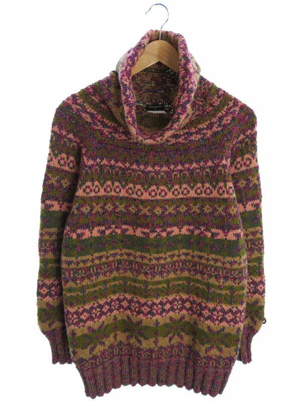 【CHANEL】【トップス】シャネル『長袖ニット size36』レディース セーター 1週間保証【中古】