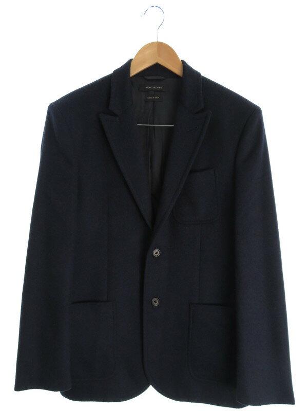 【MARC JACOBS】【セットアップ】【2ピース】マークジェイコブス『ウール シングルスーツ上下セット size48』メンズ 1週間保証【中古】