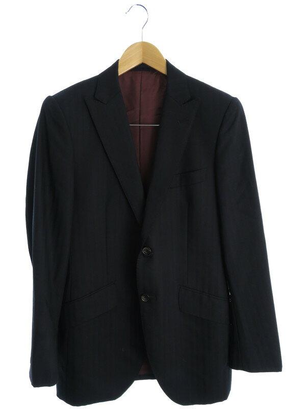 【gotairiku】【上下セット】ゴタイリク『ストライプ柄スーツ size38S』メンズ セットアップ 1週間保証【中古】