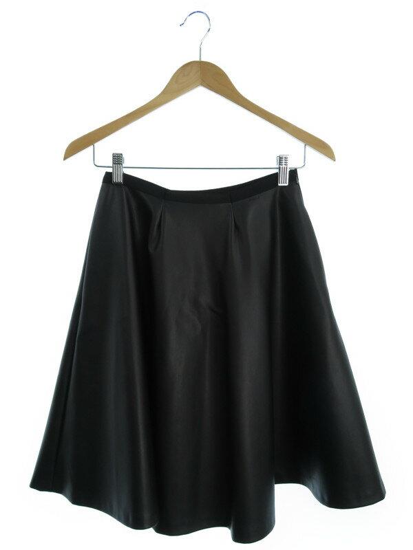 【FOXEY NEWYORK】【ボトムス】フォクシーニューヨーク『フェイクレザースカート size38』レディース 1週間保証【中古】