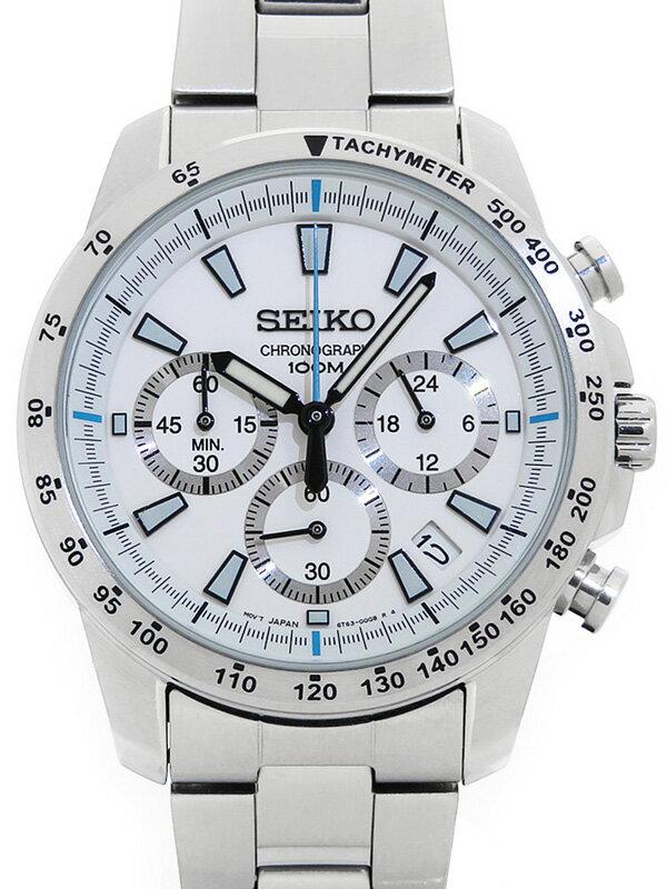 【SEIKO】【海外モデル】セイコー『クロノグラフ』SSB025PC 79****番 メンズ クォーツ 1週間保証【中古】