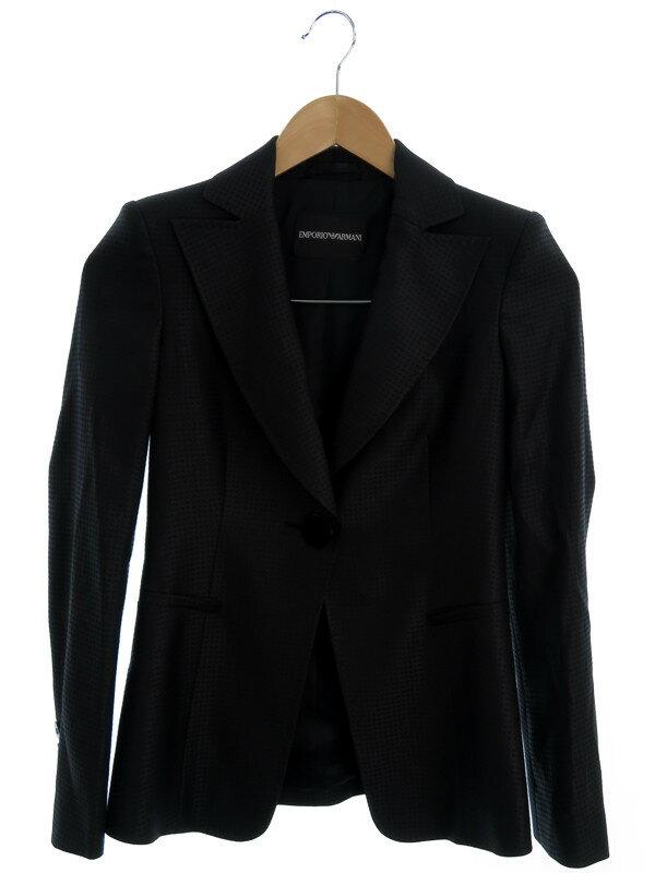 【EMPORIO ARMANI】【上下セット】エンポリオアルマーニ『セットアップスカートスーツ size36』レディース 1週間保証【中古】
