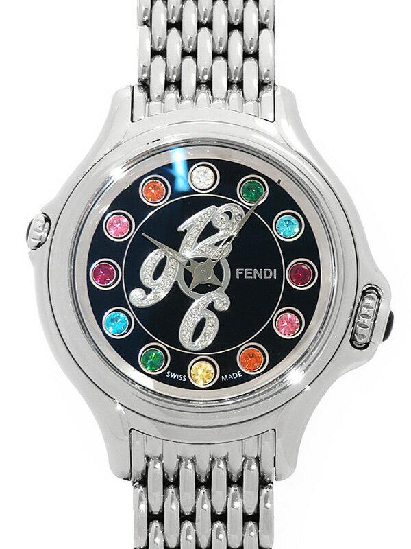 【FENDI】【電池交換済】フェンディ『クレイジーカラット』F105021000T02 レディース クォーツ 3ヶ月保証【中古】