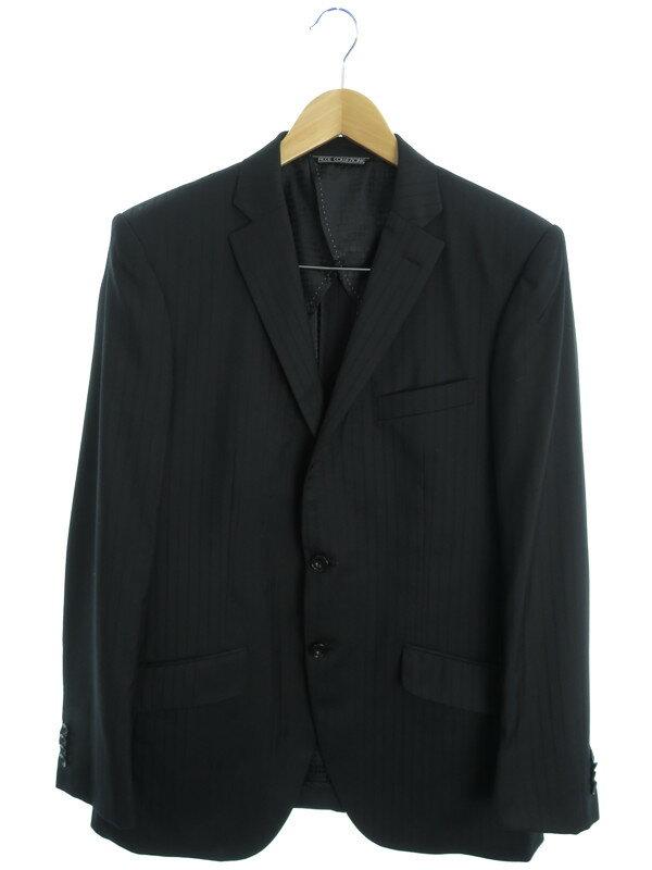 【FICCE COLLEZIONE】【上下セット】フィッチェコレツィオーネ『ストライプ柄スーツ size100AB7』メンズ セットアップ 1週間保証【中古】