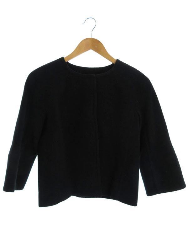 【M-premier BLACK】【アウター】エムプルミエブラック『七分袖ジャケット size38』レディース 1週間保証【中古】