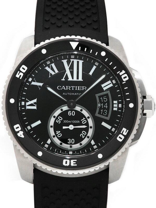 【Cartier】カルティエ『カリブル ドゥ カルティエ ダイバー』W7100056 メンズ 自動巻き 6ヶ月保証【中古】