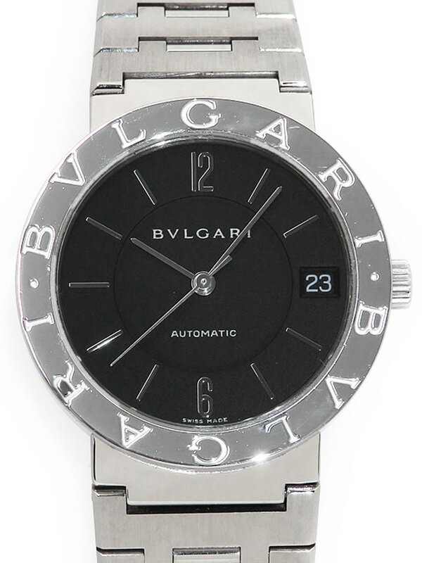 【BVLGARI】【OH・仕上済】ブルガリ『ブルガリブルガリ』BB33SS ボーイズ 自動巻き 1ヶ月保証【中古】