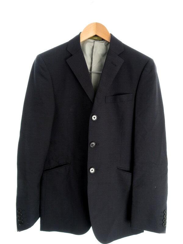 【A.A.R yohji yamamoto】【上下セット】【3ボタン】エーエーアールヨウジヤマモト『シングルスーツ size48R』メンズ セットアップ 1週間保証【中古】
