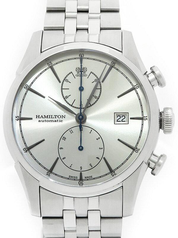 【HAMILTON】【裏スケ】ハミルトン『スピリット オブ リバティ クロノグラフ』H32416981 メンズ 自動巻き 1ヶ月保証【中古】