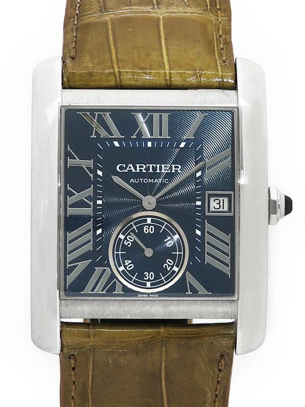【Cartier】【裏スケ】カルティエ『タンクMC』WSTA0010 メンズ 自動巻き 6ヶ月保証【中古】