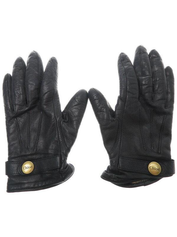 【Chloe】【キッズ】【女の子】クロエ『グローブ size17』レディース 手袋 1週間保証【中古】