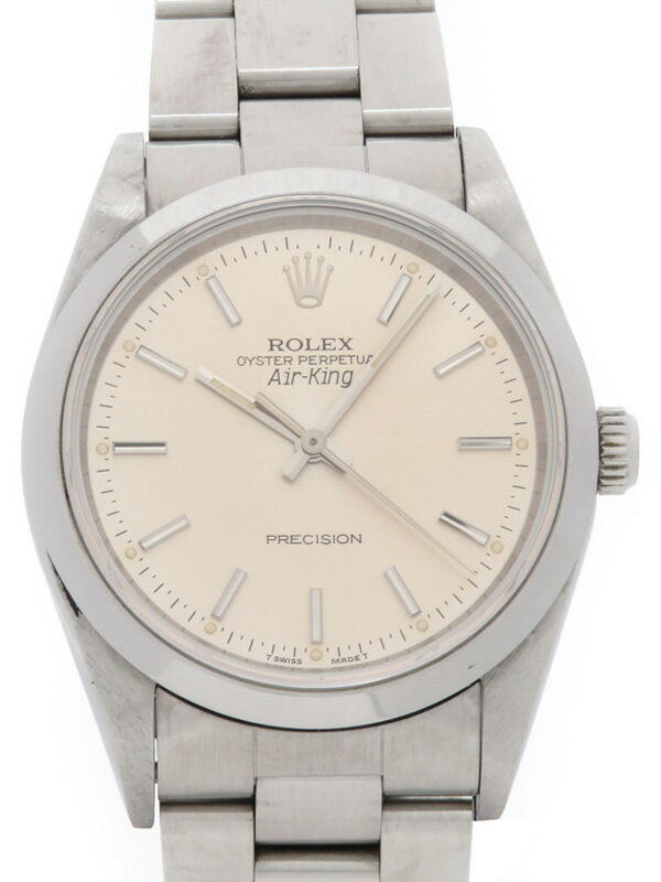 【ROLEX】ロレックス『エアキング』14000 S番'93年頃製 メンズ 自動巻き 12ヶ月保証【中古】