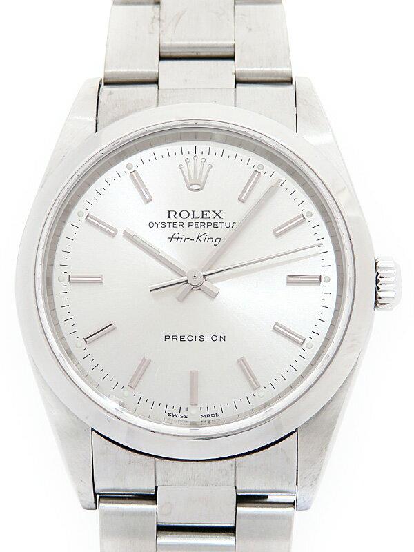 【ROLEX】ロレックス『エアキング』14000M Y番'02年頃製 メンズ 自動巻き 12ヶ月保証【中古】