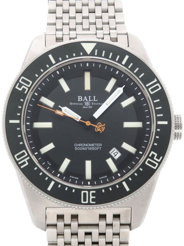 【BALL】ボール『エンジニアマスター2 スキンダイバー2』DM3108A メンズ 自動巻き 3ヶ月保証【中古】