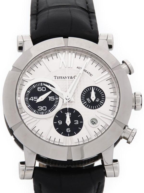 【TIFFANY&Co.】【裏スケ】ティファニー『アトラス クロノグラフ』Z1000.82.12A21A71A メンズ 自動巻き 3ヶ月保証【中古】