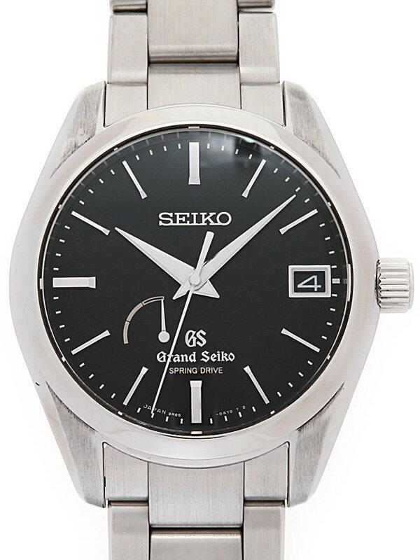 【SEIKO】【GS】セイコー『グランドセイコー』SBGA085 41****番 メンズ スプリングドライブ 3ヶ月保証【中古】