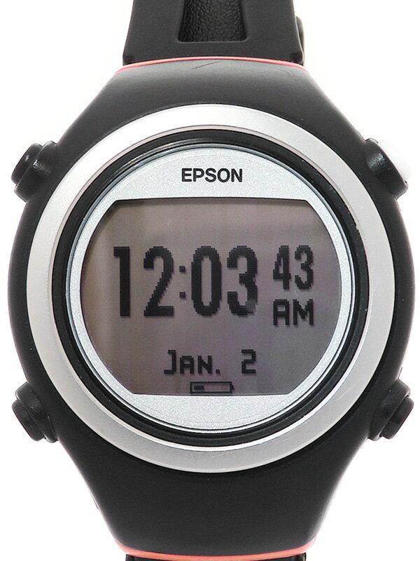 【EPSON】【GPSマルチスポーツウォッチ】エプソン『リスタブルGPS』SF-510T ボーイズ ウェアラブル端末 1週間保証【中古】