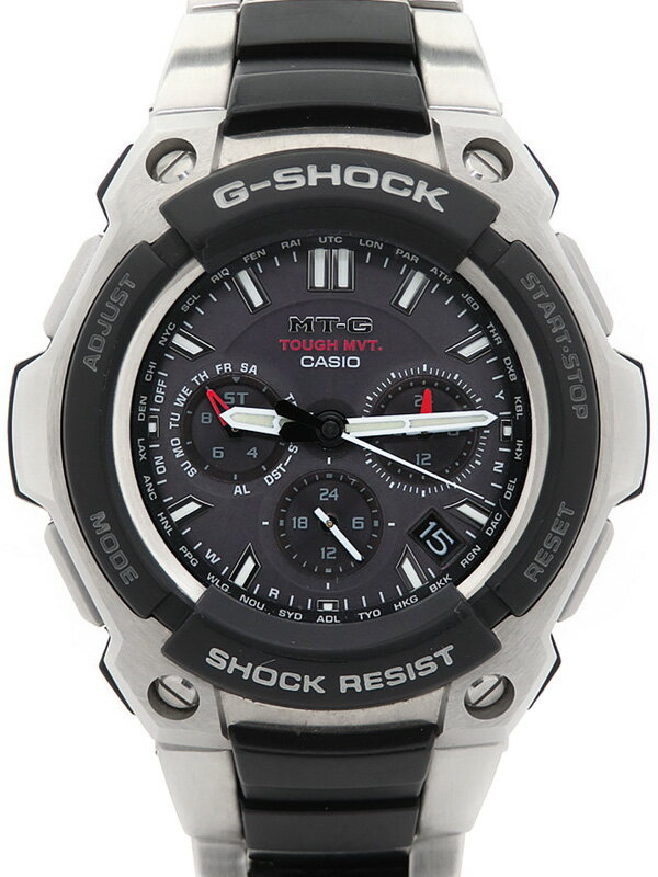 【CASIO】【G-SHOCK】カシオ『Gショック MT-G』MTG-1200-1AJF メンズ ソーラー電波クォーツ 1週間保証【中古】