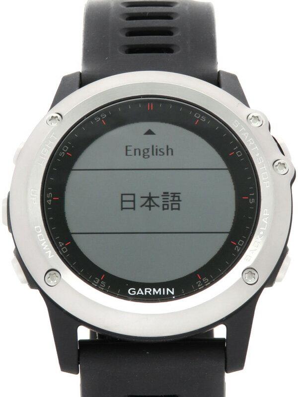 【GARMIN】【GPSマルチスポーツウォッチ】ガーミン『fenix 3J』010-01338-08 メンズ ウェアラブル端末 1週間保証【中古】
