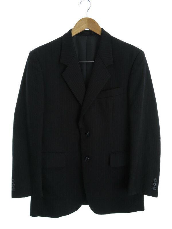 【MACKENZIE】【上下セット】マッケンジー『ストライプ柄スーツ sizeC90-W78-T165 A4』メンズ セットアップ 1週間保証【中古】