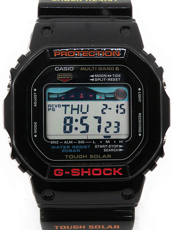 【CASIO】【G-SHOCK】カシオ『Gショック Gライド』GWX-5600-1JF ボーイズ ソーラー電波クォーツ 1週間保証【中古】
