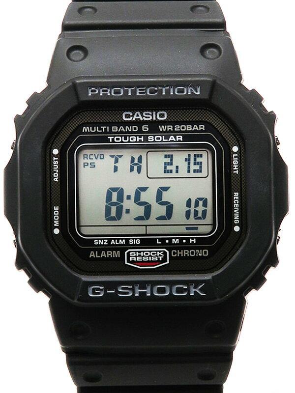 【CASIO】【G-SHOCK】【美品】カシオ『Gショック』GW-5000-1JF ボーイズ ソーラー電波クォーツ 1週間保証【中古】