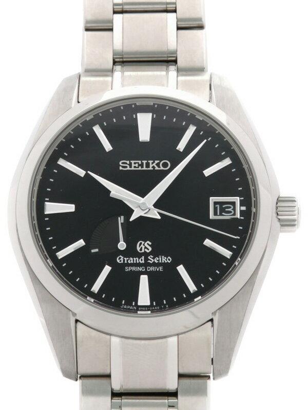 【SEIKO】【GS】【裏スケ】セイコー『グランドセイコー』SBGA003 64****番 メンズ スプリングドライブ 3ヶ月保証【中古】