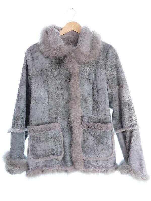 【アウター】ノーブランド『ファージャケット size13AR』レディース レザージャケット 1週間保証【中古】