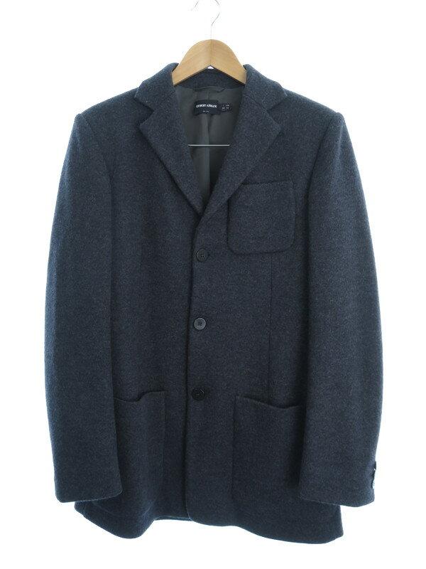【Giorgio Armani】【2ピース】【セットアップ】ジョルジオアルマーニ『スーツ上下セット size上48 下46』メンズ セットアップ 1週間保証【中古】